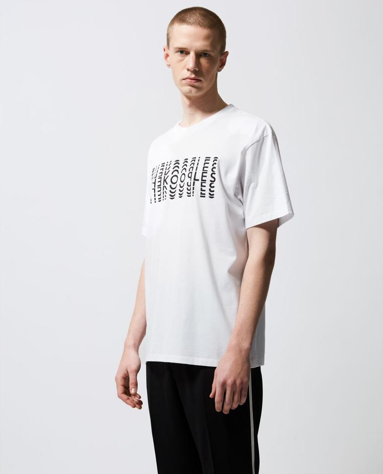 The Kooples Beyaz Erkek T-Shirt